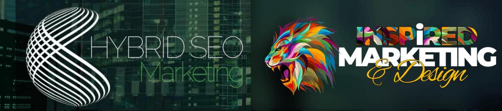 Hybrid SEO Marketing & Inspired Marketing & Design banner